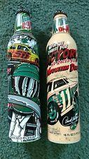 Mountain Dew Set of 2 NASCAR Commerative Soda Bottles