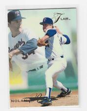 New listing ***   1993 FLEER FLAIR NOLAN RYAN - #286 - Texas Rangers    ***