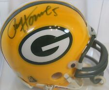 PAUL HORNUNG AUTOGRAPHED SIGNED GREEN BAY PACKERS NFL MINI HELMET WITH CASE COA
