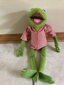 Vintage1976 Fisher-Price Jim Henson Muppet Kermit the Frog #850 Plush Doll Toy