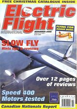 ELECTRIC FLIGHT MAGAZINE 2000 NOV FLYING FISH, FOKKER EIII, SIMPROP SUNNY BOY