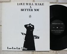 LOVE LIVE LIFE + ONE - ‎Love Will Make A Better You LP Japanese Psychedelic 1971