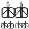 """PROMEND Folding Bicycle Pedal Quick Release MTB Road Bike Pedals 3 Bearing 9/16"""""""
