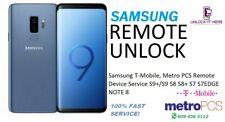 Samsung T-Mobile, Metro PCS Remote UNLOCK Service S9+/S9 S8 S8+ S7 S7EDGE NOTE 8