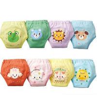 4 pcs Baby Toddler Girls reusable 4 Layers Waterproof Potty Training Pants Gift