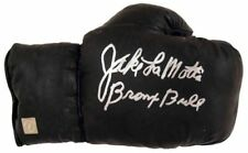 Jake LaMotta Bronx Bull Autographed Signed Vintage Boxing Glove ASI Proof