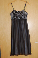 Vera Mont She Cocktailkleid Abendkleid schwarz Spitze mit Bolero Größe 34  NEU