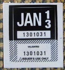 Northwest Territories 2013 License Plate STICKER NOS MINT # 1301031