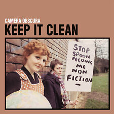SINGLE CAMERA OBSCURA KEEP IT CLEAN  VINYL LTD 1000 COPIES NUMBERED