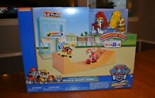 Paw Patrol TRU Exclusive - Marshall & Rubble's Beach Skate Shop Playset - New