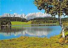 GG7717 kitzbuhel schwarzsee gegen wilden kaiseer tirol austria