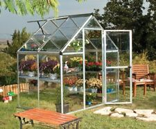Maze Walk in Polycarbonate Greenhouse 6ft x 4ft