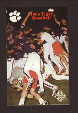Clemson Tigers--1996 Basetball Pocket Schedule--BiLo