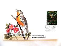 """April 19th, 2001 """"Western Meadowlark"""" Great Plains Prairie First Day Issue"""