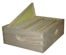 2 x 10 Frame Super Kit  Wood-Frames 6 5/8 In Bee Hive Frames Assembled Super Kit