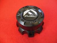 FUEL Custom  Wheel Center Cap Flat Black Finish CAP M-445  1001-60+1000-55
