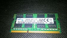 RAM SODIMM Samsung 8GB 2Rx8 PC3L-12800S-11-13-F3 M471B1G73QH0-YK0 Très Bon état