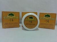 3 x Crème hydratante L' huile d'argan anti-âge argancreme 100% naturel Argan