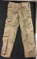 New Mens US Army Style Desert Tri Colour Camouflage BDU Trousers Various Sizes