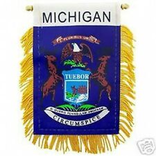 MICHIGAN STATE  FLAG BANNER MINI BANNER