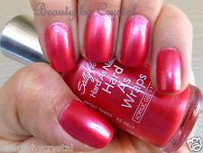 Sally Hansen Hard As Nails Hard As Wraps Polish- CORAL CREME Pink Coral Shimmer
