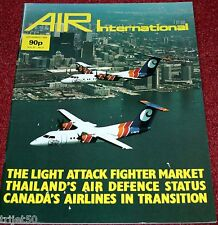 Air International Magazine 1986 September Thailand,Sukhoi Su-17,Wardair Canada