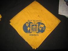 1947 World Jamboree US Contingent Neckerchief, stained,             J1#2