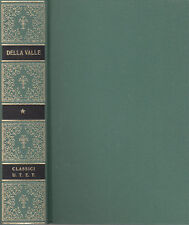 FEDERICO DELLA VALLE OPERE 1995 UTET CLASSICI ITALIANI