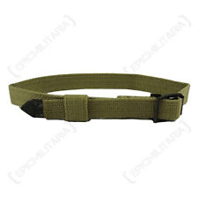 German Army WEBBING EQUIPMENT STRAP - Khaki Tan Canvas Kit Sling WW2 Repro