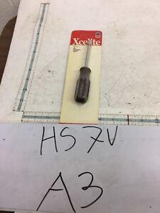 "Xcelite HS-7V 7/32"" Hollow Shaft Nutdriver USA Hex New $25 Great Deal"