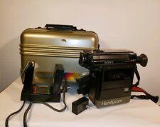 VTG SONY VIDEO 8 HANDY CAM CCD-V1 Works World Wide Standard Case Charger Battery