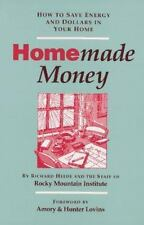 Homemade Money: How to Save Energy and Dollars in Your Home-ExLibrary
