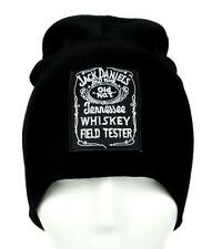 Jack Daniels Whiskey Field Tester Beanie Alternative Clothing Knit Cap Drinking