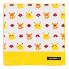 Pokemon Center Original Dot Pixel Pokemon Hand towel Handkerchief yellow Eevee