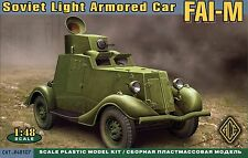 ACE 1/48 48107 WWII Soviet Red Army FAI-M Light Armored Car