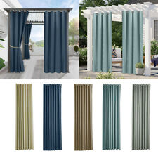 Blackout Curtains - Soundproof Blackout Material Curtains Drop Eyelet Top