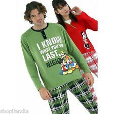 PIJAMA HOMBRE DISNEY Mickey Mouse Donald Pyjamas Pajama Pigiama Disney Talla S