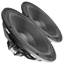 """Pair Faital Pro 18HP1022 8ohm Neodymium 18"""" Subwoofer 2000W Replacement Speaker"""