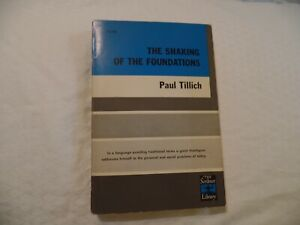THE SHAKING OF THE FOUNDATIONS - PAUL TILLICH 1948