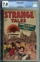 Strange Tales # 97 CGC 7.0 ow/wp 1st mention of Aunt May & Uncle Ben