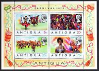 AT051 ANTIGUA 1973 Carnival, Costumes S/S Mint NH