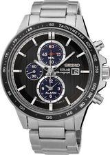Seiko Stainless Steel Band Sports Wristwatches