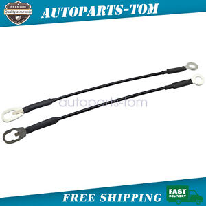 Tailgate Tail Gate Cables Pair Set of 2 NEW For Dodge Ram Pickup Truck