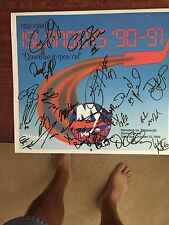 1990-91 New York Islanders Team Signed Calendar