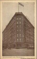 Providence RI Narragansett Hotel c1915 Postcard