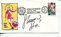 Shannon Boxx US Olympic Gold Medal Soccer World Cup Champ Signed Autograph FDC