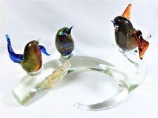 Sommerso Bird Vintage Original Italian Art Glass