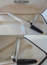 AURORA 98 MILLERIGHE PENNA STILOGRAFICA IN ARGENTO 925 E ORO 12K Silver Pen 1996