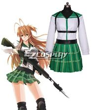 High School of the Dead Miyamoto Rei Fight Cosplay Costume E001