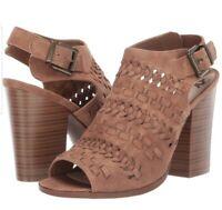 Fergalicious Women's Vagabond Heeled Sandal Color Sand Size 8M BRAND NEW IN BOX